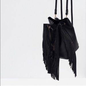 Zara Fringe Backpack